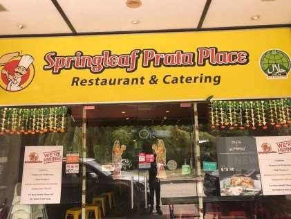 Springleaf Prata Place - Best Roti Prata in Singapore
