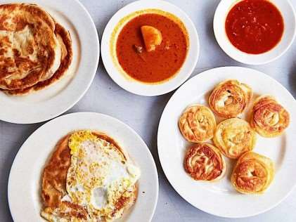 Mr and Mrs Mohgan's Super Crispy Roti Prata - Best Roti Prata in Singapore