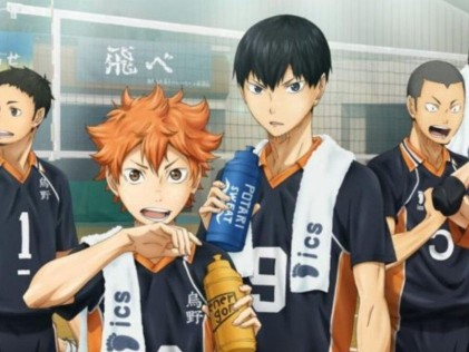 Haikyu!! - Best Anime Series on Netflix