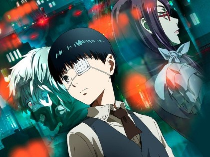 Tokyo Ghoul - Best Anime Series on Netflix