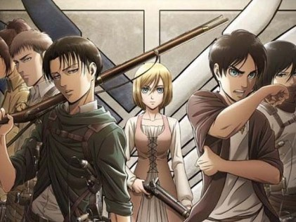 Attack on Titan - Best Anime Series on Netflix